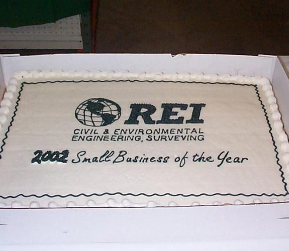 REI 30th anniversary cake